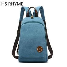 Hs рифма холст женщины рюкзак милые девушки саквояж Новый Дизайн Мода Симпатичные студенты школы Mochila