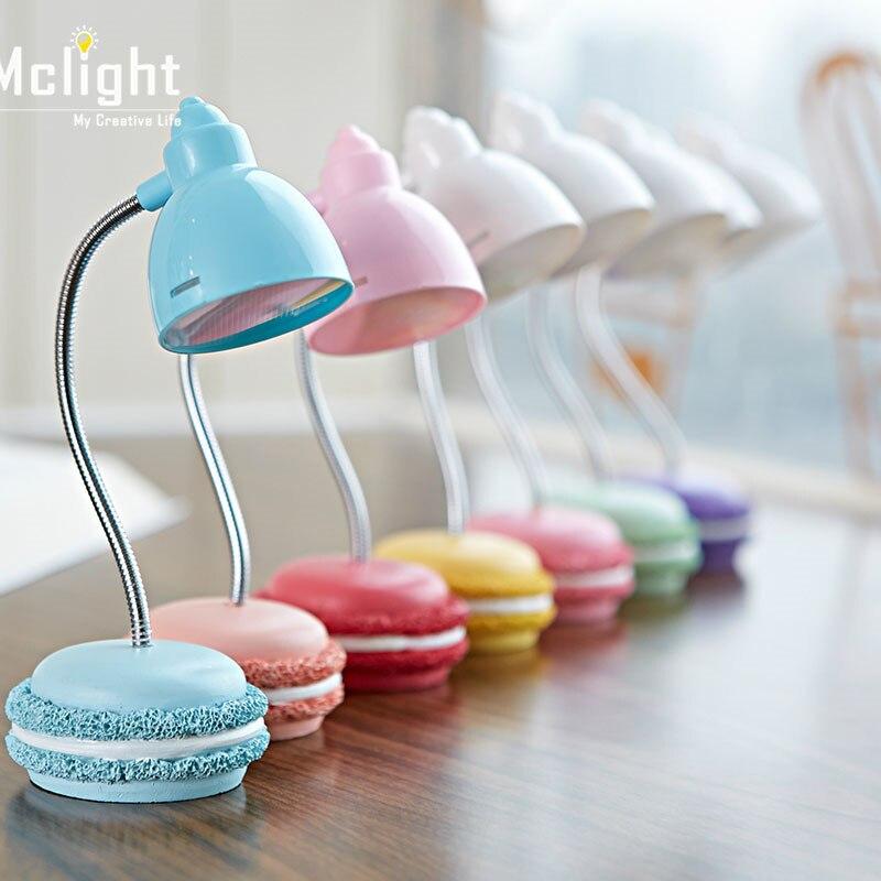 cute lovely macaron led desk lamp folding adjustable 3 leds rh aliexpress com cute desk lamps for sale cute desk lamps for college