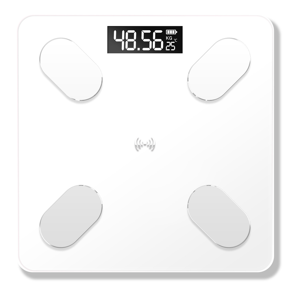 Tools : Smart BT Digital USB Rechargeable Floor Scale Electronic Scales Weight scale balance Data BT Connection Voice Broadcast