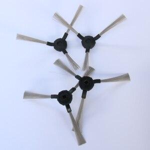 Image 3 - 14.4V 3500mAh Rechargeable Battery+ Side Brush*2+HEPA Filter*2 for panda x600 x800 kitfort kt 504 robotic Vacuum Cleaner Parts