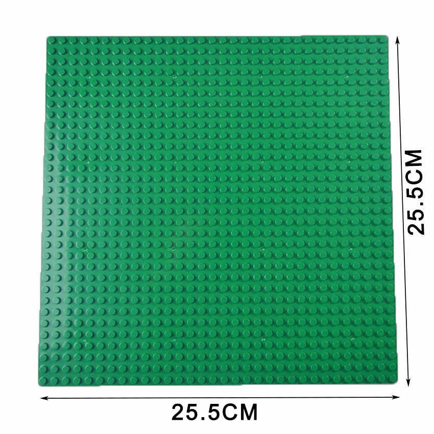 Kazi Clássico Placas de Base dimensões Baseplates Compatíveis Com Tijolos de Plástico Blocos de Construção de Brinquedos de Construção 32*32 Pontos