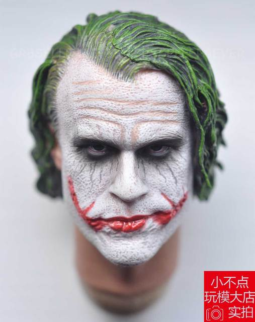 3310fb0cc85 SUPREME 1 6 scale Head Sculpt Joker Heath Ledger 3.0 for hot toys DX11 DX01