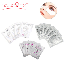 NEWCOME 30/50/100pairs Eye Patch Eyelash Extension,Lint Free Pads Under Hydrogel Patches for Make Up Tools Professional