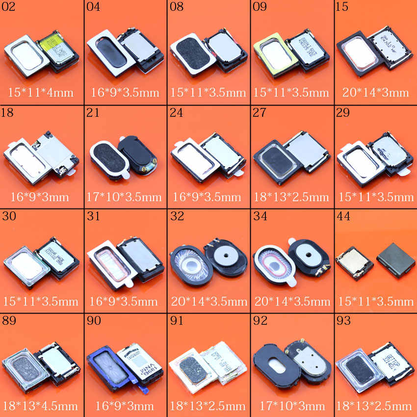 Cltgxdd 20 modelos timbre zumbador altavoz para Xiaomi Redmi Sony Xperia Huawei Lenovo Nokia HTC OPPO LG