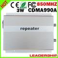 CDMA990A CDMA repeater 850mhz booster CDMA 800mhz/850mhz repeater 85dbm 2W 3G mobile repeater 800mhz booster gsm repeater 850mhz