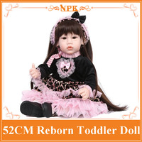 Unique Design 52cm 20 Reborn Toddler Dolls Reborn Baby Doll Best Price Bebes Reborn Menina For