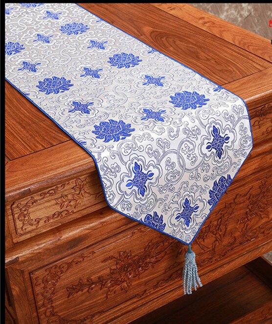 Rustikální etnický efekt Damašek Stůl Runner Obdélník Jídelní stolové podložky Čaj Ubrus Ubrus Stůl Povlečení