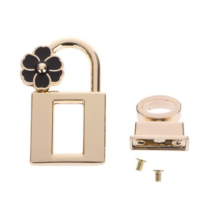 2.48x4.35cm New Metal Clasp Turn Lock Twist Locks For DIY Handbag Craft Bag Purse Hardware