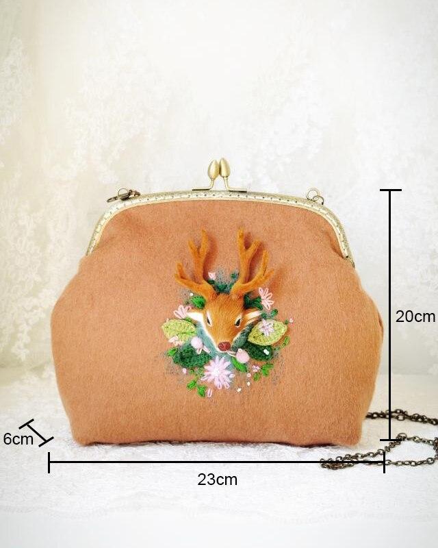 High Quality kiss lock handbag
