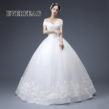 EVERFEAG Beautiful ball gown design floor length dresses