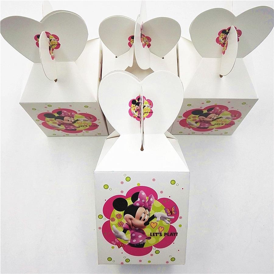 6pcs/set Trolls Minions Masks Moana Kitty Cartoons Party Supplies ...