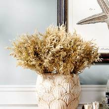 Odd ranks yield simulation Flower Home Decorations natural dried flowers hay natural colors oat / bundle J