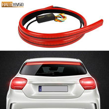 Universal Car LED Brake Light 40 intch Turn Signals Lamp Running Double Flash Additional Brake Lights Car Styling accessories july king car led brake lights case for mazda 3 axela 2013 on night running lights turn signals light brake lights 3 in 1