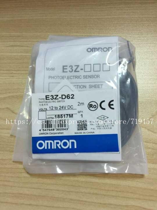 OMRON E3Z-LS61 photoélectrique commutateur 2 m nouveau