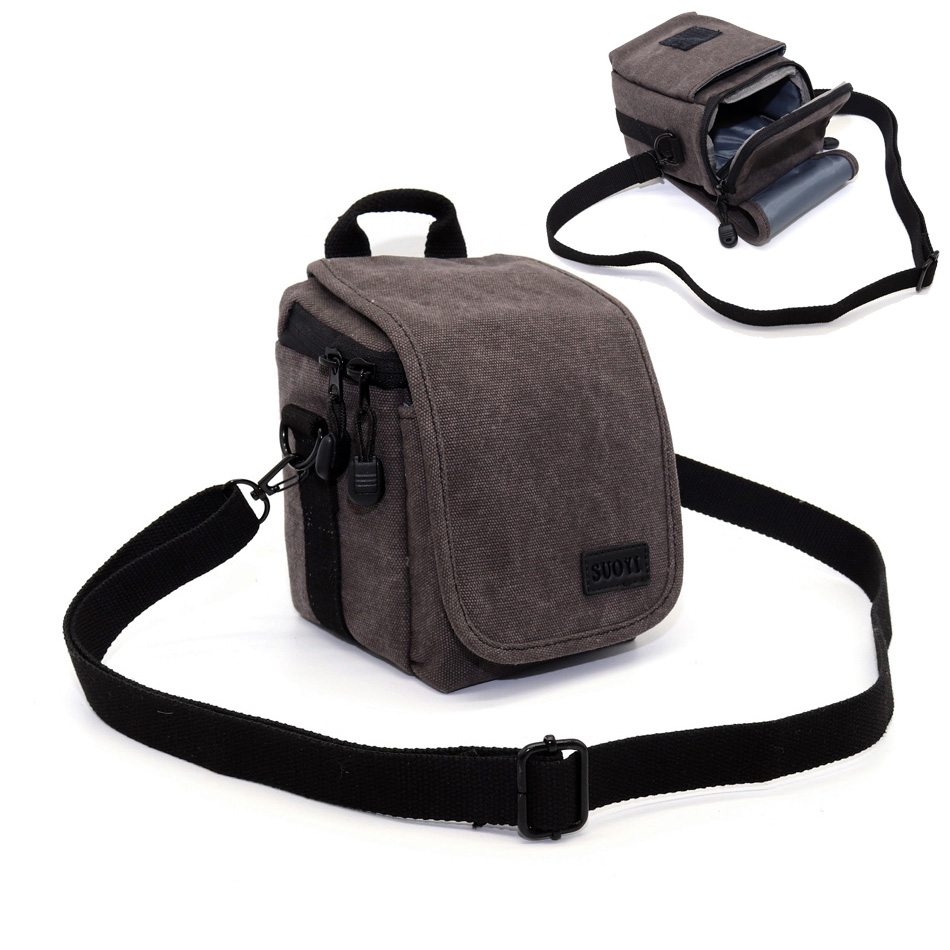 Camera Bag Case Cover for <font><b>Panasonic</b></font> <font><b>LUMIX</b></font> <font><b>LX100</b></font> LX7 LX5 LX3 GM1 GX7 GF8 GF7 ZS60 ZS50 ZS40 ZS110 TZ100 TS30 SZ10 Camera Bag image