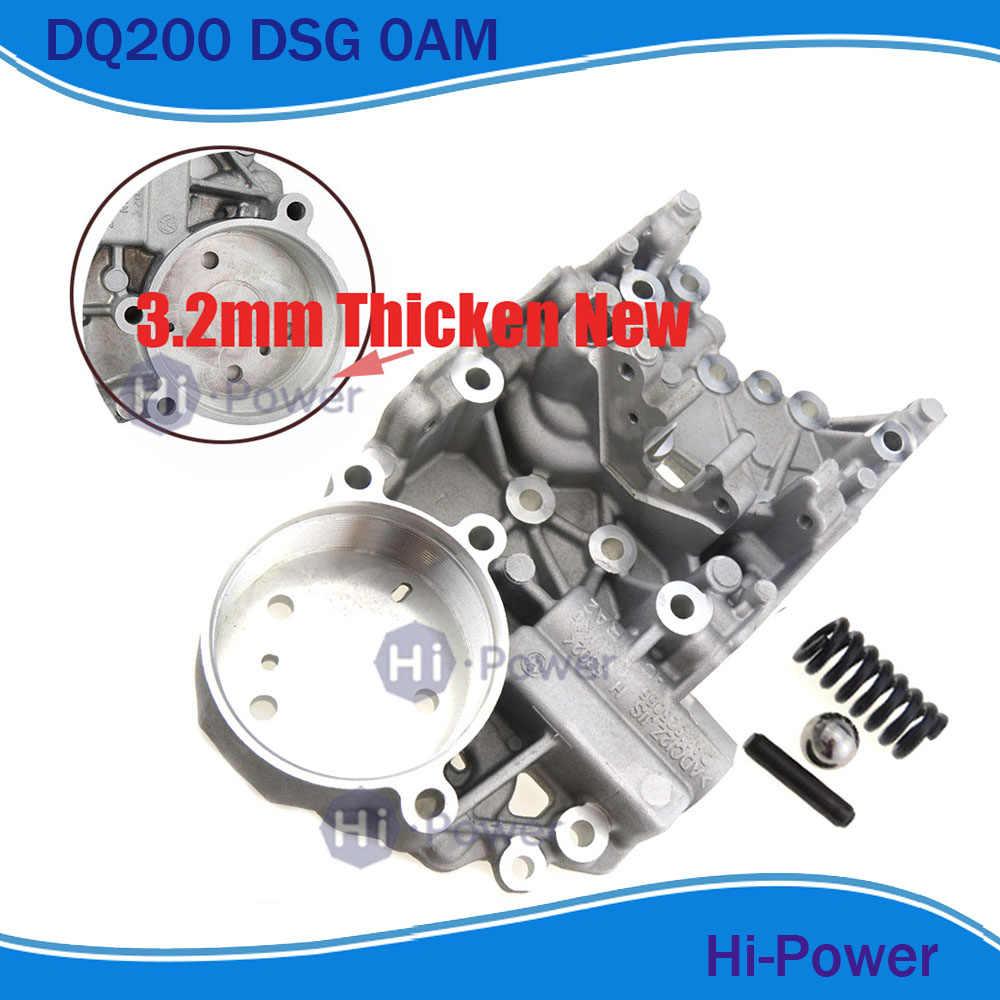 0AM DQ200 DSG Thicken 3 2mm Valvebody accumulator housing