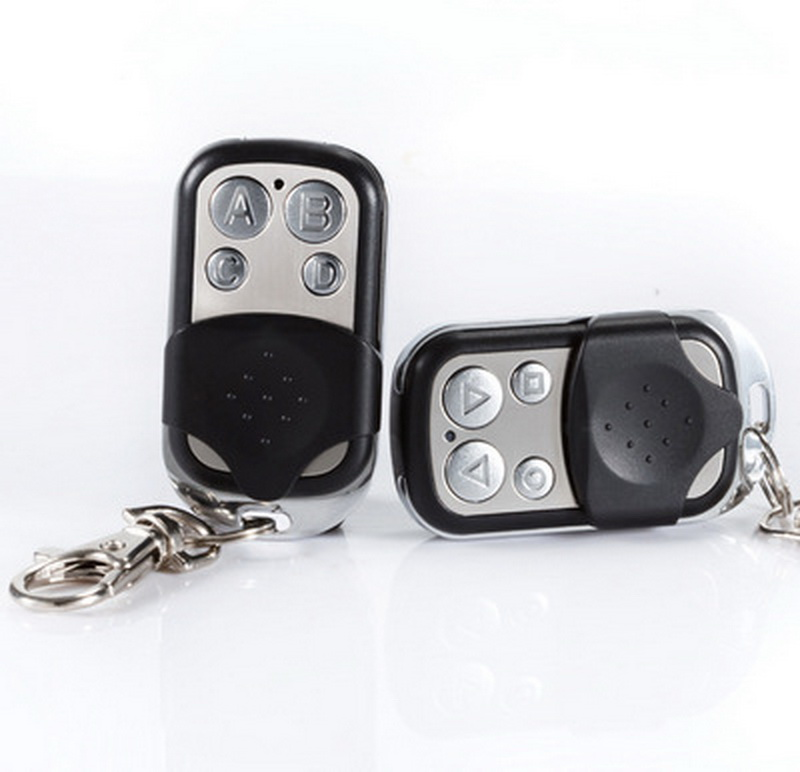 by dhl 200pcs Remote Control Fob 433mhz Key Universal for Worldwide Gate Garage Electric Cloning Door
