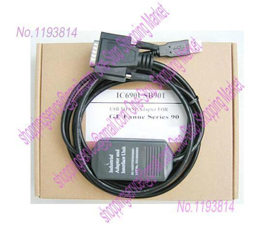 GE PLC Programming Cable IC690USB901 professional integrity plc programming cable usb fbs seconds