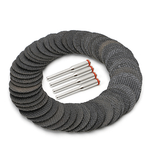 Image 2 - 50Pcs Fiberglass Tool Abrasive Cutting Disc Cut Off Wheel with 4 Mandrels Rotary  Y103