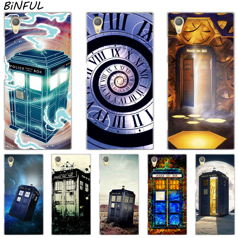 Phone Bags & Cases Modest Floral Tardis Doctor Who Clear Cover Case For Sony Xperia Z3 Z5 Premium M4 Aqua M5 X Xa Xa1 C4 C5 E4 E5 Xz Xz2 Compact Plus Cellphones & Telecommunications