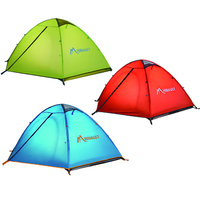 High Quality Waterproof Climbing Hiking Camping Tent Outdoor Equipment Folded Large Family Tent