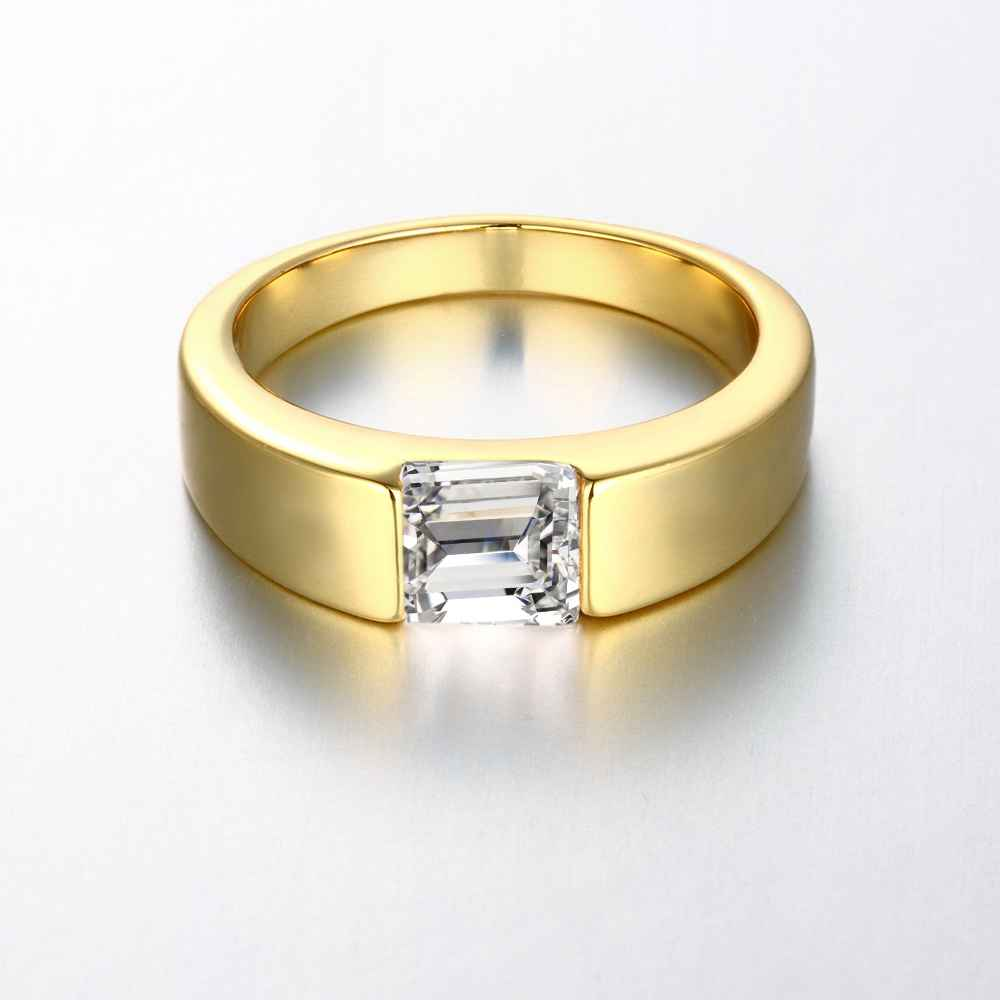 Austrian Crystal Rings For Women Empty Heart Anillos To