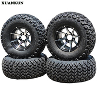 XUANKUN ATV Four Rounds Off The Road Kart Bike 12 Inch Tires 25X10 12 Inch Tires Wheel Hub
