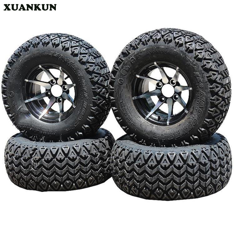 XUANKUN ATV Four Rounds Off The Road Kart Bike 12 Inch Tires 25X10-12 Inch Tires Wheel Hub image