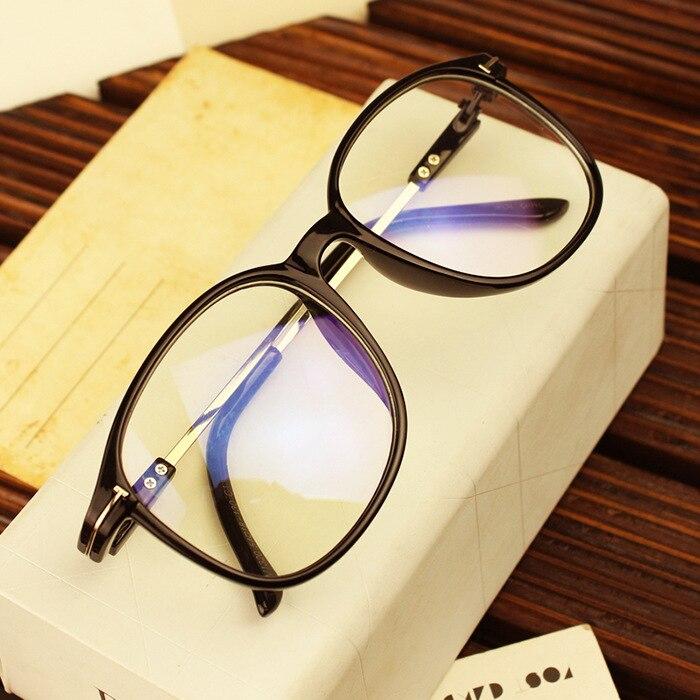10 pièces/lot coréen lunettes montures pour femmes hommes affaires lunettes cadre hommes rond rétro optique lunettes cadre pour femmes hommes