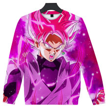 DRAGON BALL Moletom Hoodie Men's Clothing Autumn and Winter Street 3D Printing Casual Round Neck Long Sleeve Sweater(China)