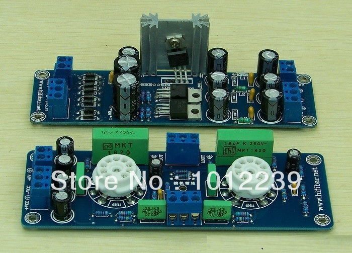 Lite Ls29 Pcb Tube Buffer Preamplifier Board Pcb Based On Musical Fidelity X10-d Pre-amp Circuit Moderate Price Consumer Electronics