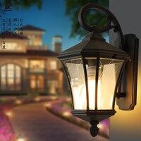 Современные светодиодные Открытый водонепроницаемый свет Настенные светильники наружного освещения 10 Вт черный/серый корпус IP54 buiten verlichting