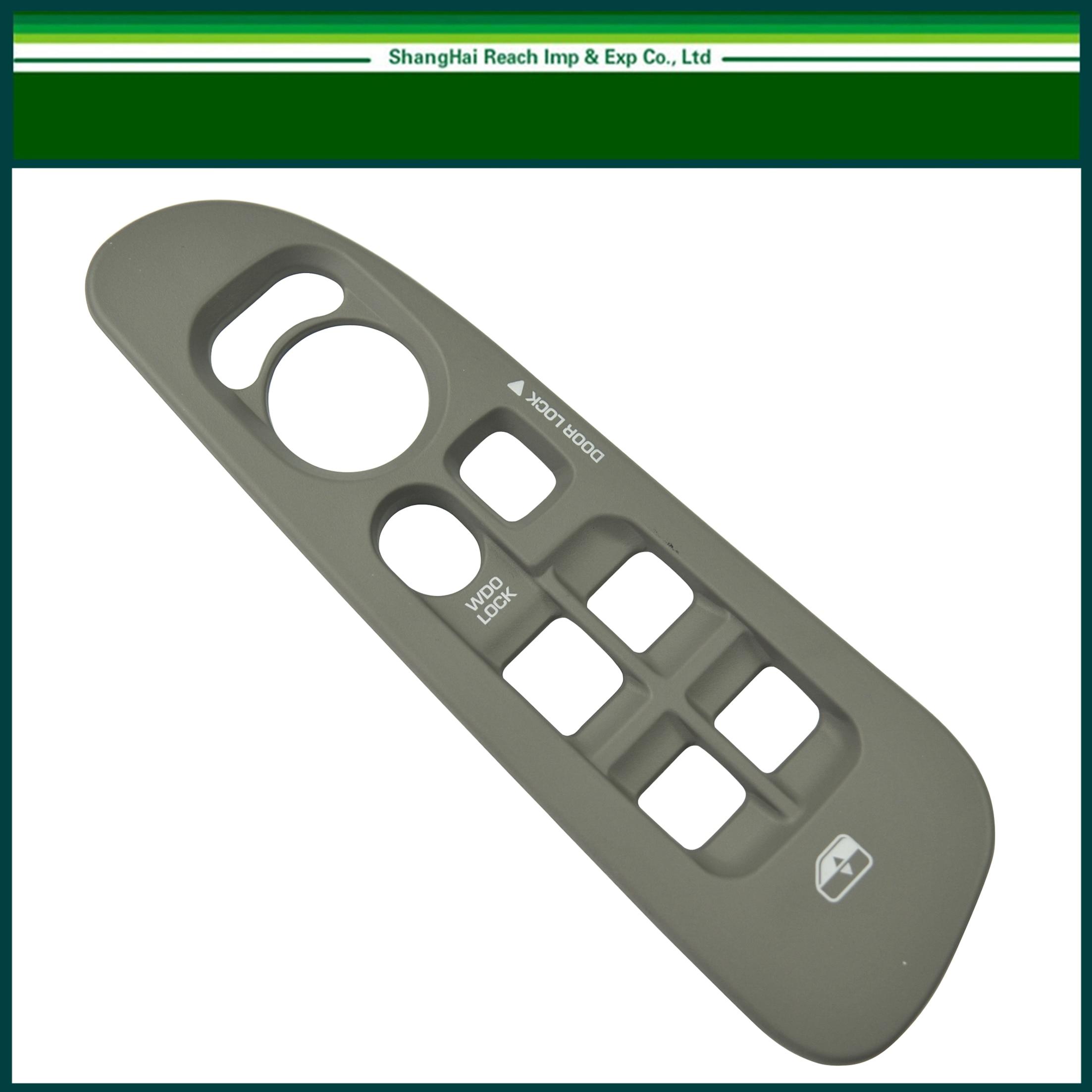 Black Window Switch Bezel Front Left Driver Side Door for 02-05 Ram 15//25//3500