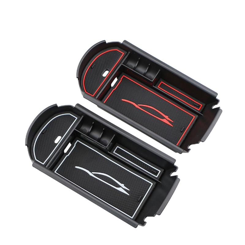 Car ABS Armrest Box Storage Box Control Center Container Organizer Container Box for Toyota C-HR CHR 2016 2017 2018 Accessories