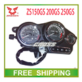 150CC 200cc 250cc zongshen ZS150GS ZS200GS ZS250GS dirtbike speedometer odometer instrument motorcycle accessories free shipping