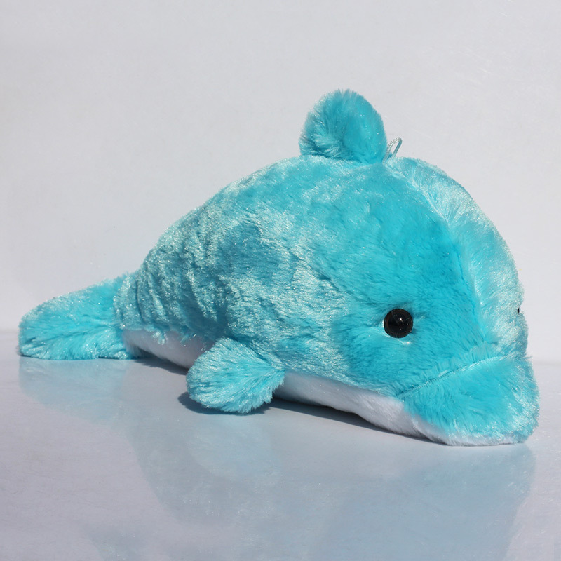 Plush font b Toy b font Dolphin Big Doll Dolphin Large Day Gift Free Shipping