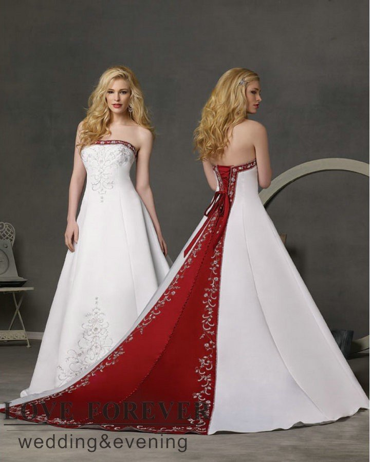 ball gown best selling silver embroidery royal blue and white wedding dresschina mainland