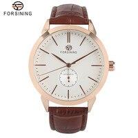 FORSINING Men Self Wind Mechanical Dress Gift Automatic Wrist Watch Modern Trendy Luxury Elegant Analog Business