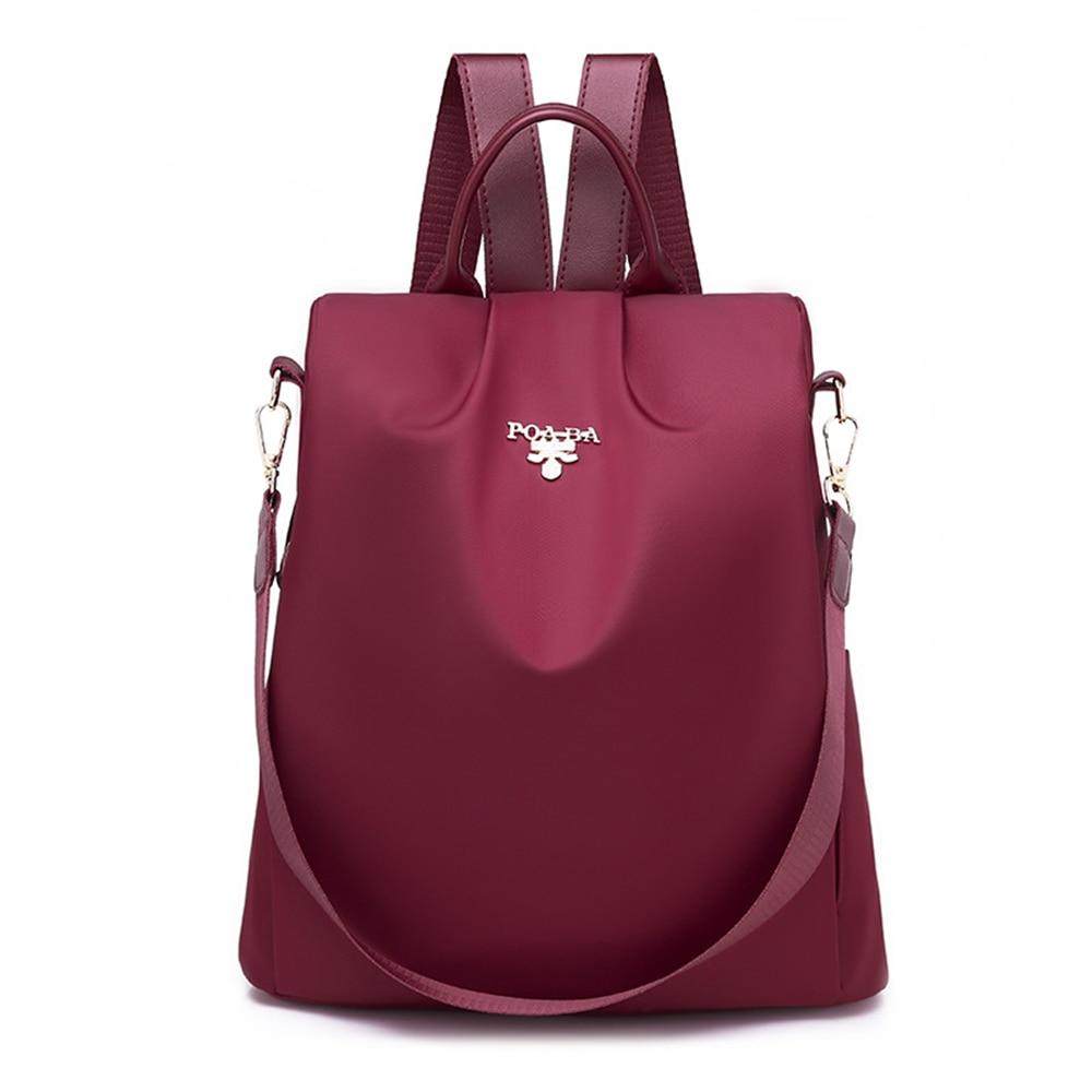 4Styles Anti-theft Women Swimming Backpacks Ladies Large Capacity Swimbag Waterproof Oxford  Backpacks 2