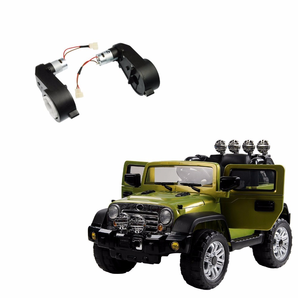 2pcs Set 12v 23000rpm Rs550 Dc Motor Gearbox For Jeep Electric Kids Ride On Car Ins In Accessories From Automobiles Motorcycles Aliexpress