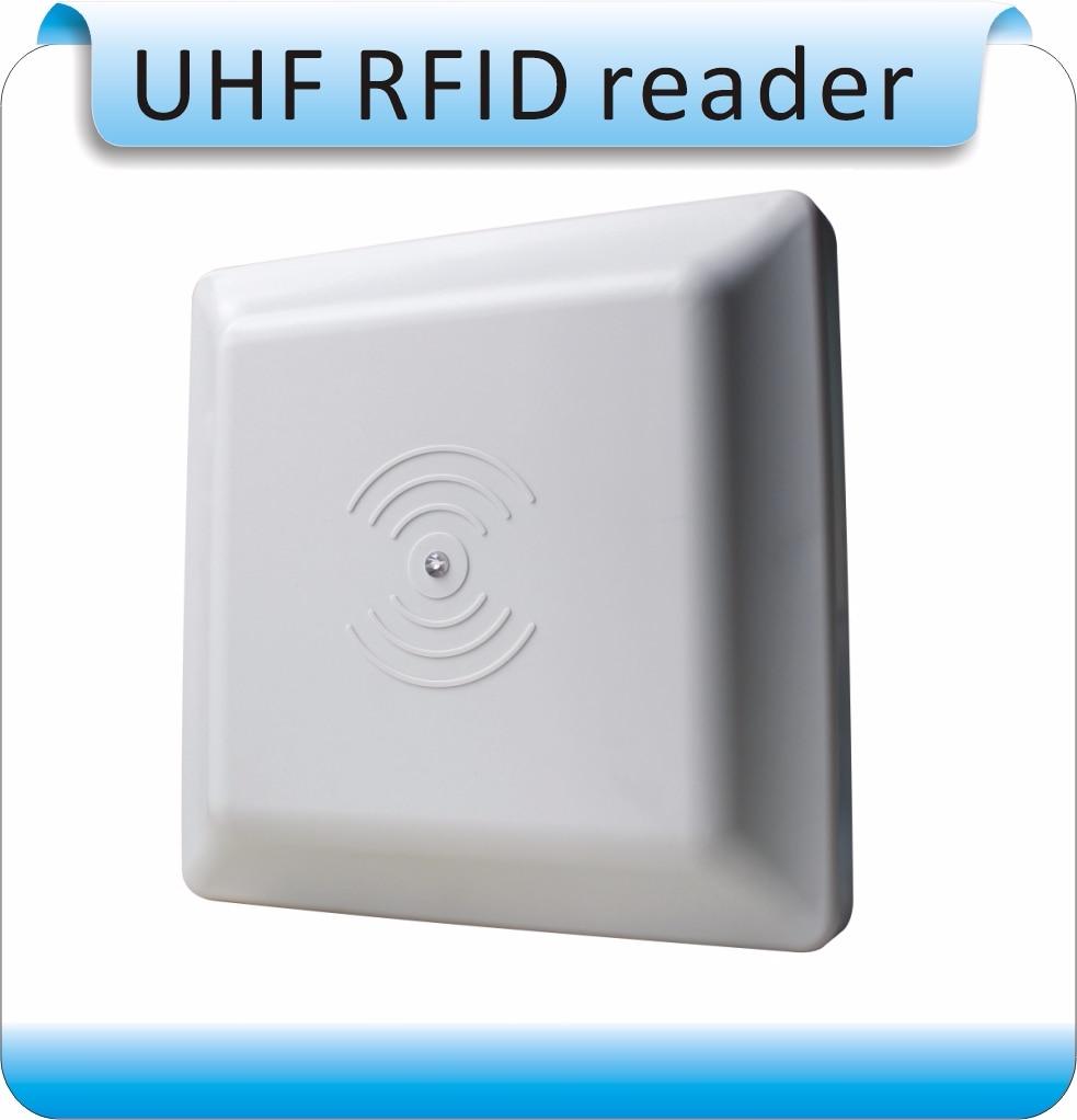 Купить с кэшбэком 2.4G RFID Integrated Long Range Reader free Tags +10 pcs card, Longset 0-50M  Range Reader for  wiegand26  /RS232/RS485