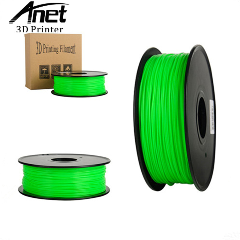 ANET ABS 10 colors 1kg bag 350 meters 3d printer filament 1 75mm optional consumable material