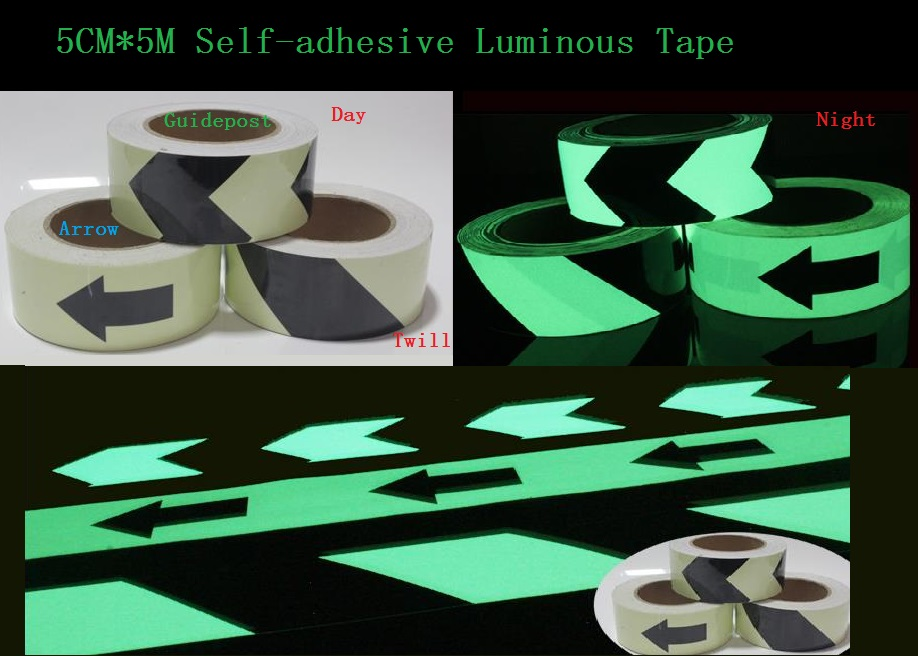 5cm*5M Road Traffic Guidepost Sign Storage Light Luminescent Film Glowing In The Dark Warning Stage Luminous Self-adhesive Tape samia m el dieb mohamed m metwally and alaa m abd el fattah the changes in uht milk properties during storage