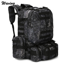 Waterproof Travel Backpack Cycling Bike Outdoor Cycling Travel Hiking Cycling Bag Multifunction Tactical Backpack Feb 14