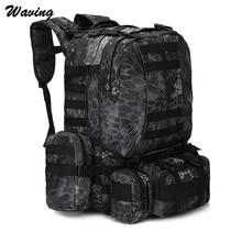 Waterproof Travel Backpack Cycling Bike Outdoor Cycling Travel Hiking Cycling Bag Multifunction Tactical Backpack Feb 14