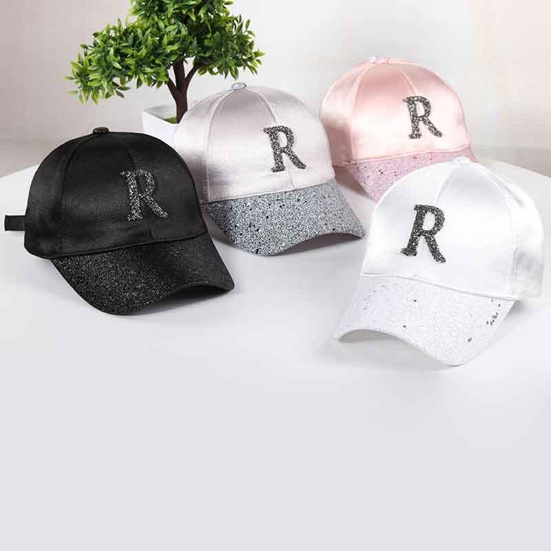 2018 Glitter Ponytail baseball sapka Snapback Női kalap nyári Mesh - Ruházati kiegészítők