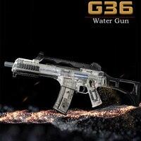 Новый Weir G36 второй Электрический прозрачный Водяная бомба игрушечный пистолет Live CS нападение Снайпер оружие водяной пистолет детская игруш