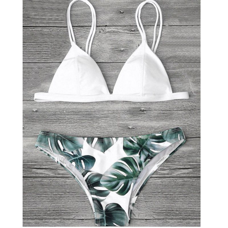 <font><b>2018</b></font> <font><b>Sexy</b></font> <font><b>Micro</b></font> <font><b>Bikini</b></font> Set Printed Thong Swimwear Women Summer Push Up Swimsuit Female Padded Bathing Suit <font><b>Bikinis</b></font> Women Biquini image