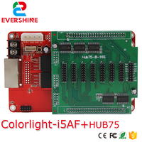 Colorlight i5AF receiving card+Conversion Card Hub75 Adapter board 256*256 pixels Apply Indoor Outdoor full color LED display|led pixel|pixel ledboard board -