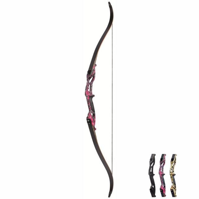 American Hunting, Split Bow With DIY Accessories for Outdoor Hunting, 3 Color 30-50lbs 5